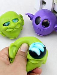 Alien with Maggots Water Polo in the Head Joke Gadgets Toys (Random Color)