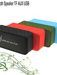 oi-fi alto-falante estéreo bluetooth mini-portátil para tf aux handfree microfone para iphone samsung + outro