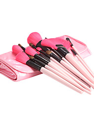 24Pcs Pink Makeup Brush Set