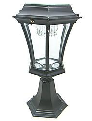 Welhome™ Bollard Light Garden Pedestal LED Solar Lamps