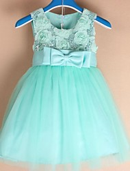Girl's Christmas Banquet Festival Child Party Dress