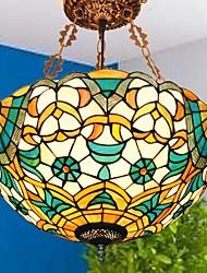 16 polegadas vitral tiffany luz pingente