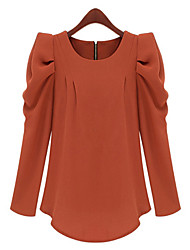 rlk gola redonda sopro camisa de manga 889 preto, vermelho, rosa