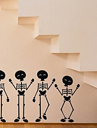 Wall Stickers Wall Decals, Skull Punk Wall Stickers