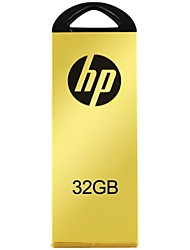 hp 2.0 flash drive usb v225w 32gb tiranos locais ouro
