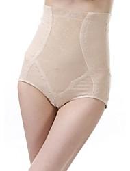 algodón / lycra de cintura alta bragas de conformación sexy