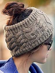 sombrero de lana hueco de las mujeres