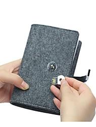 S02-CJ3214 Novel And Unique Fashion Trend Of 32K Felt Notebook 2.0 4G USB Flash Drives