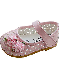 Girls' Shoes Comfort Flat Heel Flats with Magic Tape Shoes More Colors available
