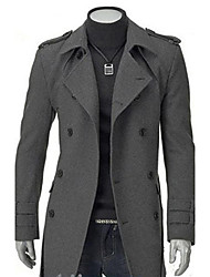 Keden Men's Fashion Wind Coat
