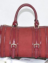 BLKL European Fashion Handbag Handbag (Dark Red)