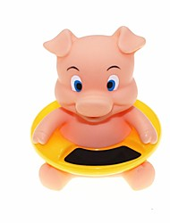 Baby's Cute Pig Style Bathtub Bathing Water Thermometer