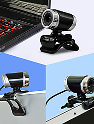 12 megapixels usb 2.0 clip-on Mini webcam com microfone