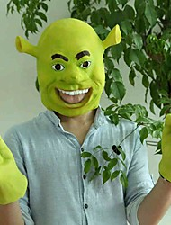 Shrek Latex Movie Cosplay Mask