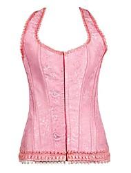 belle dos nu avant fermeture busc désossage corset shapewear des femmes avec des t-sangle
