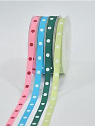 3/8 Inch Polyester Rib Belt Printing Ink Dot One Dot Ribbon-10 Yard Each Bag