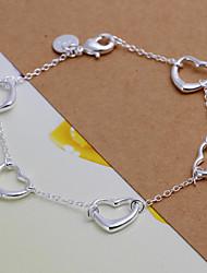 Vilin Women's Silver Heart  Bracelet