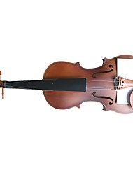 4/4 Coffee Basswood Plywood Violin with Tiger Stripes VL-02