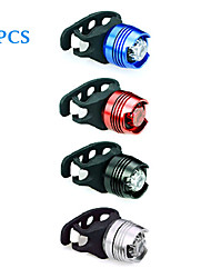 8PCS Aluminum Alloy Waterproof Cycling Warning Light(Assorted Color)