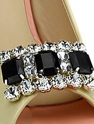 rhinestone acentos decorativos para los zapatos de un par