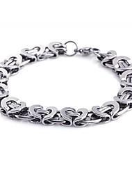 herenmode persoonlijkheid titanium staal handmatige style armbanden