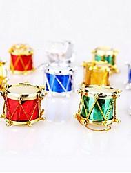 12 pcs décorations de Noël multicolores widgets de tambourin