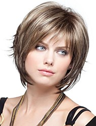 Women  lady  Short  Synthetic  Hair Wig