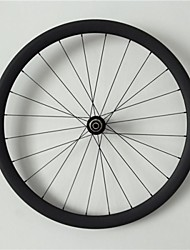 AURORA  700c Road Bike,Bicycle 38mm Depth 20.5mm Width Full Carbon Tubular Wheels, Basalt Brake Surface