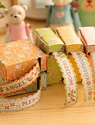 rendas scrapbooking decorado adesivos DIY (1 pcs de cor aleatória)