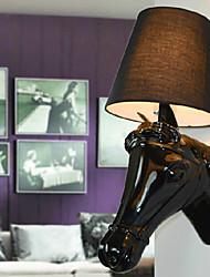 mini-luz de parede 1 luz forma cavalo moderno resina 220v