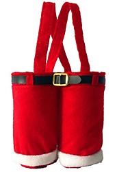 natal saco do presente têxtil doliform