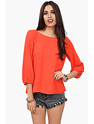 Women's Polyester Casual ORG