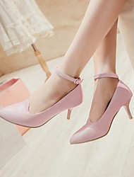 zapatos de las mujeres del dedo del pie en punta stiletto talón bombean los zapatos más colores disponibles