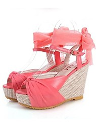 Women's Shoes Peep Toe Wedge Heel Sandals Shoes More Colors avaliable