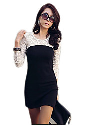 Women's Dresses , Lace Casual