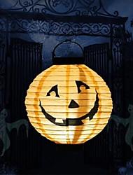 toonykelly®light Halloween visage de citrouille décoratif lanterne de papier de sourire MitB articles de fête