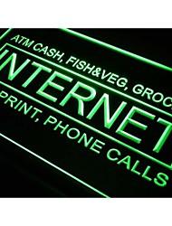 M036 internet atm sinal dinheiro fax luz neon telefone