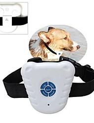 dispositif de formation de contrôle de l'écorce extérieure imperméable à l'eau en toute sécurité à ultrasons anti-aboiement de chien de collier