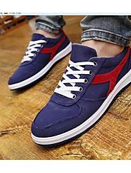 Scarpe da uomo Casual Similpelle Sneakers alla moda Nero/Blu/Grigio