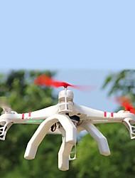 L'hélicoptère de fuselage 4.5ch en métal hua de lumières LED / camer / émetteur gyroscopique rtf 2.4G télécommande hj380c