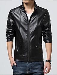 legal bonito casual casaco do plutônio dos homens