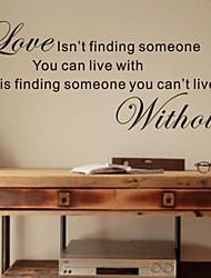 jiubai ™ cita del amor etiqueta de la pared etiqueta de la pared