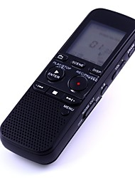 QX312D 4GB Digital Flash Voice Recorder Naturally Speaking Voice to Print Software