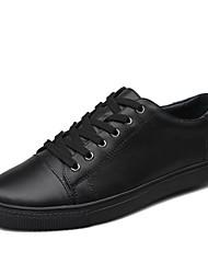Scarpe da uomo Casual Di pelle Sneakers alla moda Nero/Blu/Marrone/Verde