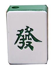 Creative Mahjong Style  Metal  Butane Jet Gas Lighter