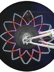 pc programmables personnalisés sans fil roues message vélo lumières CHT-0311b