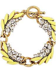 Ethnic Vintage con strass Fiori di perline catena europea bracciali & Link (altri colori) delle donne (1pc)
