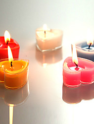 Romantic Aromatherapy Heart Shape Candles