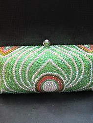Women PU Event/Party Evening Bag Blue / Green / Multi-color