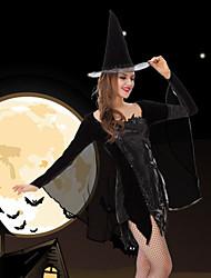 vestido de traje de hadas de la mujer con el sombrero de rendimiento